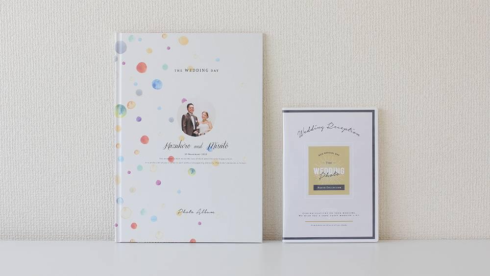 結婚式安くてデザインがおしゃれなフォトアルバム