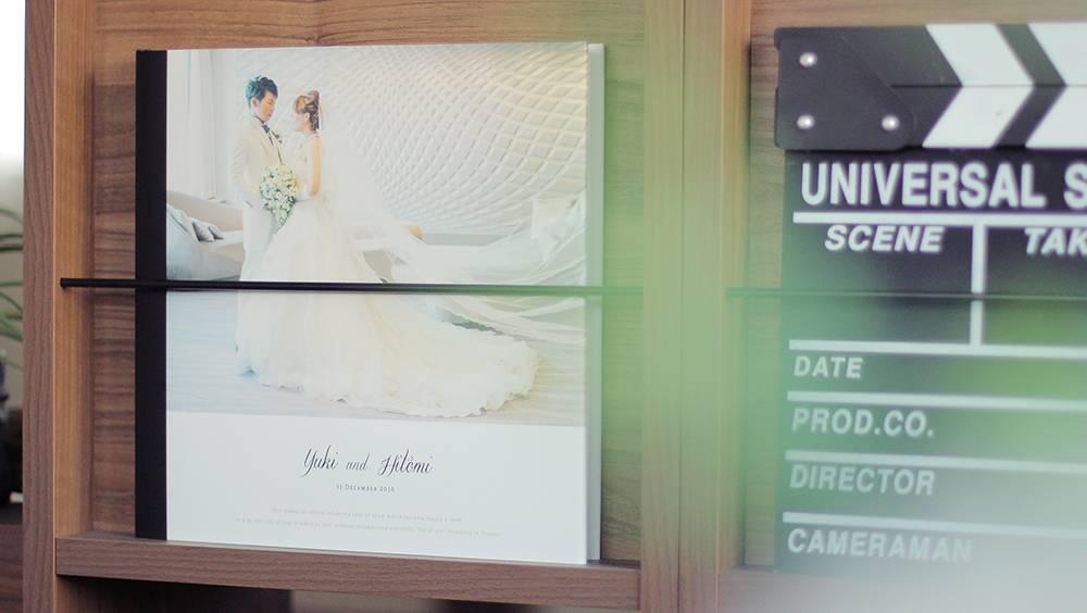 結婚式写真のおしゃれなアルバム