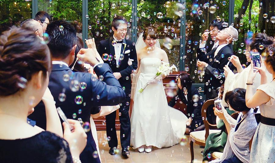 結婚式の持ち込みカメラマンで撮って出しエンドロールムービーや記録ビデオのジューンブライド特典