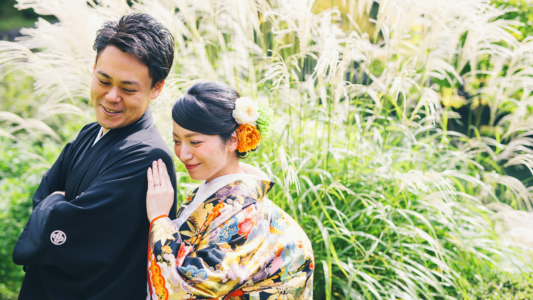 結婚式の前撮りは和装がおすすめ