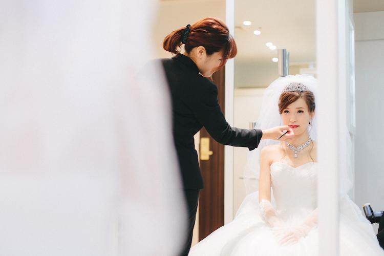 結婚式ヒルトン東京スナップ写真