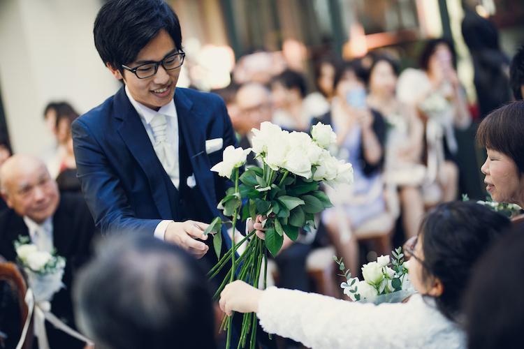 結婚式スナップ写真撮影リストランテASO(東京代官山)