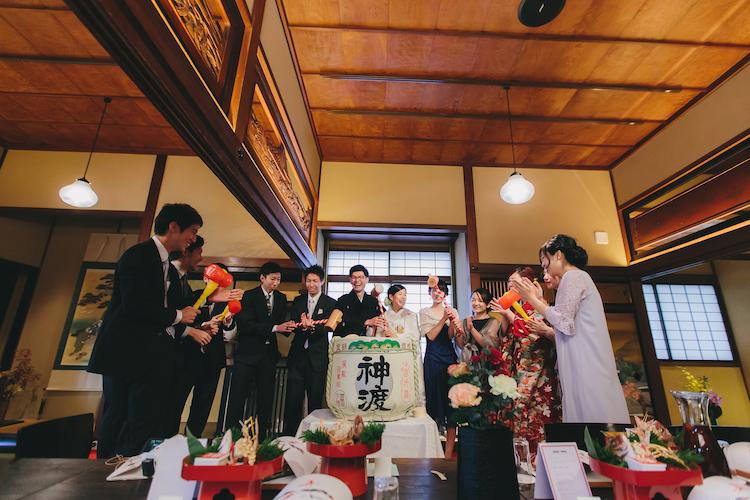 和婚結婚式長野松本レストランヒカリヤ写真スナップ撮影事例